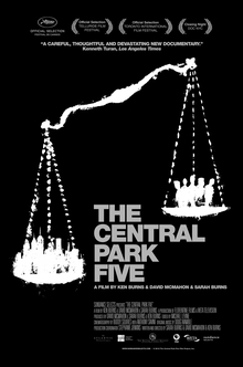 [RECEPTION SOLD OUT] Join us for a reception before the screening of <br/> THE CENTRAL PARK FIVE <br/> and meet co-director Sarah Burns <br/> Wednesday February 12